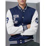 Buy BLUE AND WHITE, Apparel, Men's Clothing, Men's Jackets & Coats for $25.00 in GearBest store