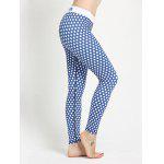 Polka Dot Skinny Yoga Leggings deal