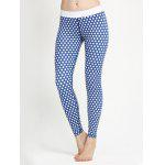 cheap Polka Dot Skinny Yoga Leggings