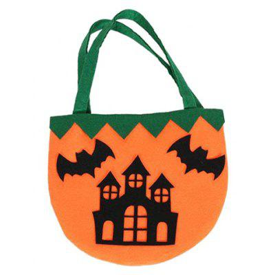Color Block Castle Pattern Halloween Bag