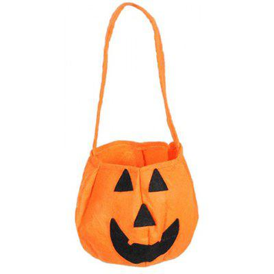 Halloween Pumpkin Shaped Bag