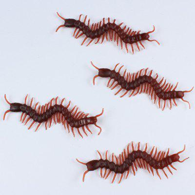 Halloween Supplies Party Decoration 10PCS Simulation Chilopod Toy Prop