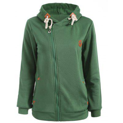 Zip Up Anchor Hoodie