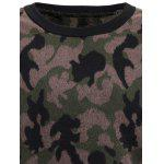 Thicken Camo Pullover Sweatshirt deal
