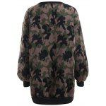 cheap Thicken Camo Pullover Sweatshirt