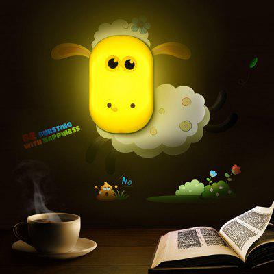 Home Decor Cartoon Sheep Bedside Desk LED Night Light