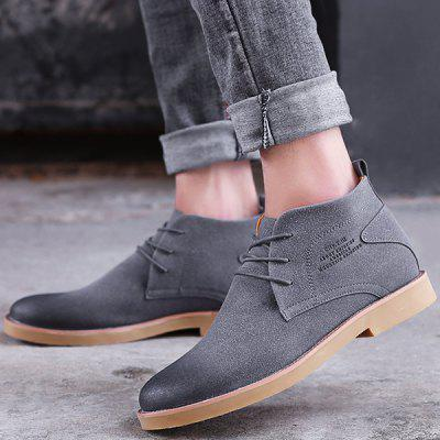 Lace Up Pointed Toe Casual Shoes shopping online original outlet real Grey outlet store online discount 2014 newest UixRBch