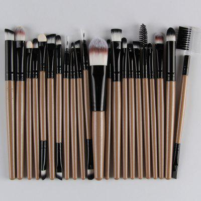 22 Pcs Nylon Eye Lip Makeup Brushes Set