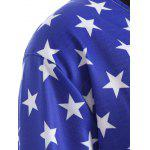 Pullover American Flag Print Sweatshirt for sale