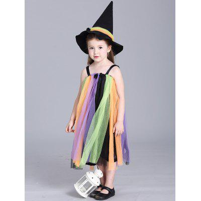 Kids Spaghetti Strap Maxi Halloween Rainbow Color DressGirls Clothing<br>Kids Spaghetti Strap Maxi Halloween Rainbow Color Dress<br><br>Dresses Length: Ankle-Length<br>Material: Polyester<br>Neckline: Spaghetti Strap<br>Package Contents: 1 x Dress<br>Pattern Type: Patchwork<br>Season: Summer<br>Silhouette: Ball Gown<br>Sleeve Length: Sleeveless<br>Style: Cute<br>Weight: 0.244kg<br>With Belt: No