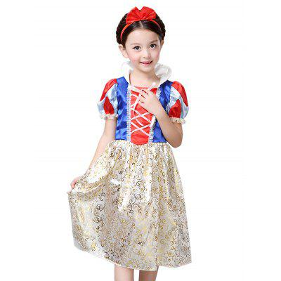 Kids Midi Halloween Christmas Princess Cosplay DressGirls Clothing<br>Kids Midi Halloween Christmas Princess Cosplay Dress<br><br>Dresses Length: Mid-Calf<br>Material: Polyester<br>Neckline: Wing Collar<br>Package Contents: 1 x Dress<br>Pattern Type: Patchwork<br>Season: Summer<br>Silhouette: A-Line<br>Sleeve Length: Short Sleeves<br>Style: Novelty<br>Weight: 0.153kg<br>With Belt: No