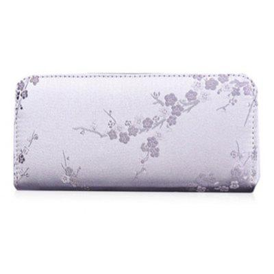 Plum Blossom Embroidery Wallet