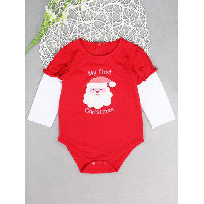 Newborn Baby Girl Infant Romper Jumpsuit Festival Clothes Set