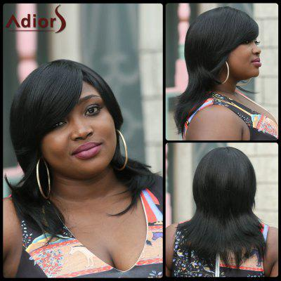 Adiors Medium Side Bang Straight Synthetic Wig
