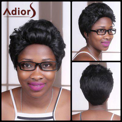 Adiors Short Fluffy Straight Synthetic Wig
