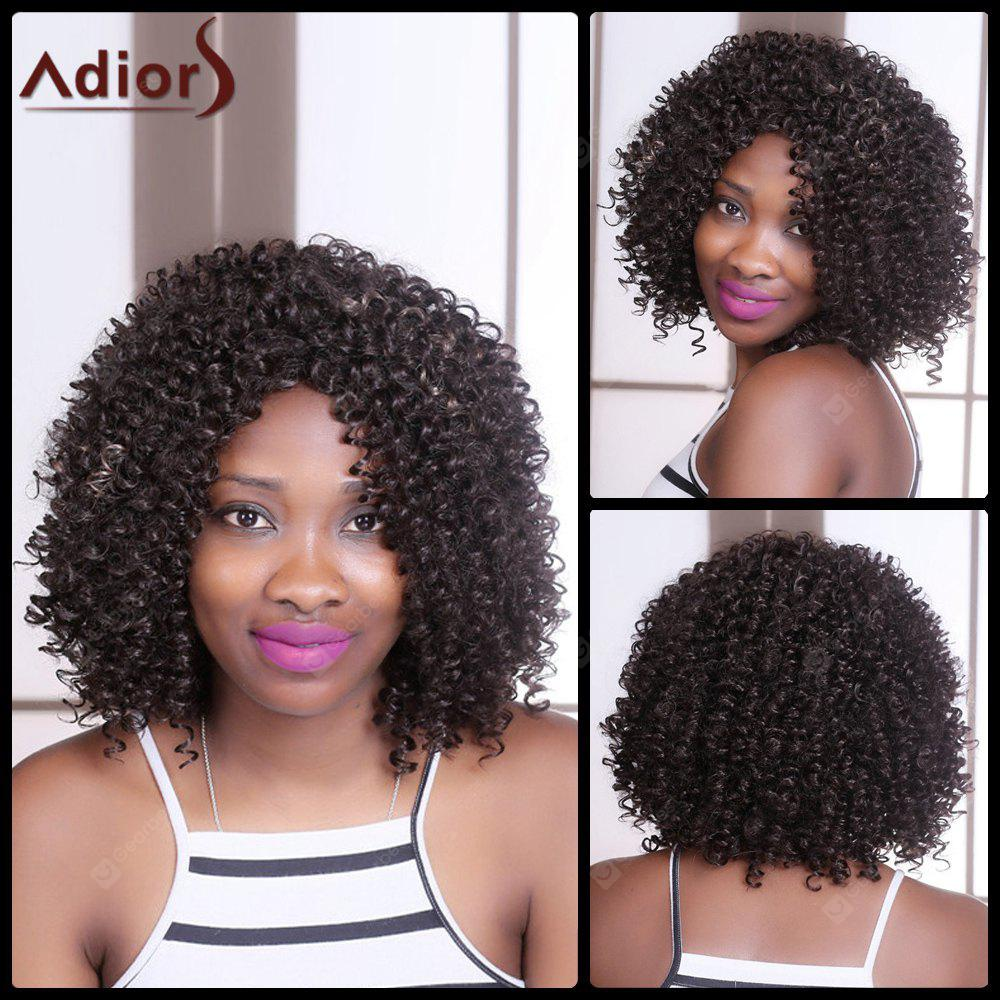 Adiors Medium Curly Colormix Side Parting Synthetic Wig
