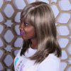 Adiors Long Side Bang Straight Mixcolor Synthetic Wig - COLORMIX