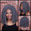 Adiors Long Curly Centre Parting Synthetic Wig - COLORMIX