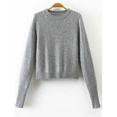 Buy DEEP GRAY Cut Out Lace-Up Sweater for $19.14 in GearBest store
