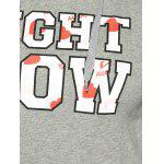 best Right Now Print Long Pullover Hoodie