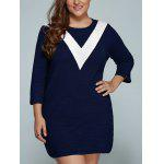 Buy WHITE, Apparel, Women's Clothing, Plus Size, Plus Size Dresses for $37.34 in GearBest store