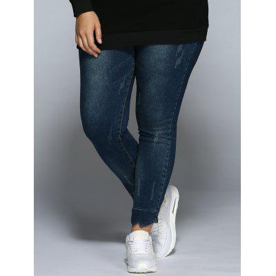 Pencil Plus Size Skinny Jeans