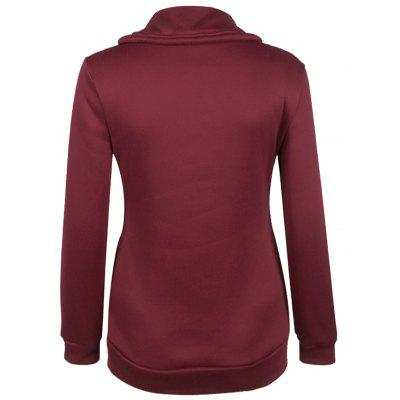 Inclined Zipper Pockets SweatshirtSweatshirts &amp; Hoodies<br>Inclined Zipper Pockets Sweatshirt<br><br>Material: Polyester<br>Package Contents: 1 x Sweatshirt<br>Pattern Style: Others<br>Season: Fall, Spring<br>Shirt Length: Regular<br>Sleeve Length: Full<br>Style: Casual<br>Weight: 0.300kg