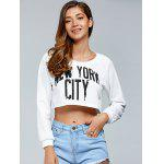 cheap New York City Crop Top