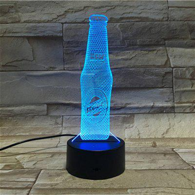 3D Visual Beer Color Changing Party Atmosphere Night Light