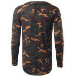 V-Neck Camouflage Sweatshirt deal
