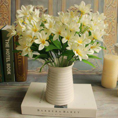 Real Touch Little Lily Artificial Flower Branch Decoration