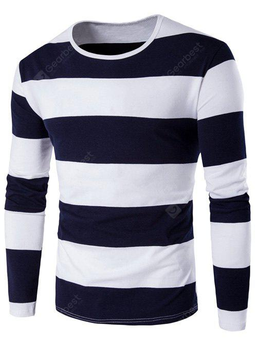 CADETBLUE Long Sleeve Stripe T-Shirt