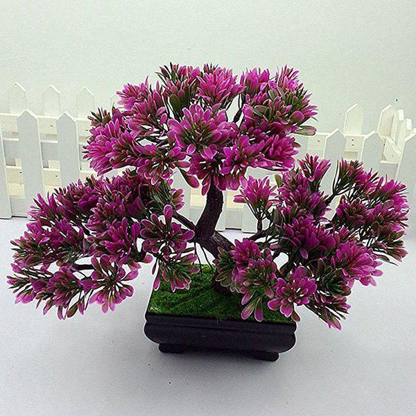 Simulation Craft Artificial Evergreen Tree Bonsai Decoration