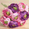 1 Bouquet Home Decor Wedding Bride Artificial Flower Bud - PURPLE