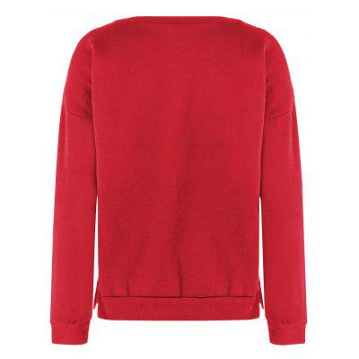 Christmas Fuzzy SweaterSweatshirts &amp; Hoodies<br>Christmas Fuzzy Sweater<br><br>Material: Polyester<br>Package Contents: 1 x Sweatshirt<br>Pattern Style: Print<br>Season: Spring, Winter, Fall<br>Shirt Length: Regular<br>Sleeve Length: Full<br>Style: Casual<br>Weight: 0.252kg