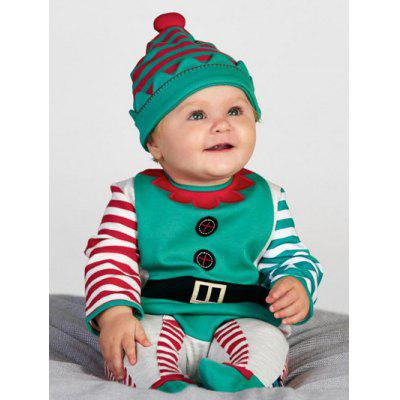 Baby Boys Newborn Infant Long Sleeve Romper Jumpsuit