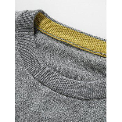 Label Embellished Round Neck Long Sleeve SweaterMens Sweaters &amp; Cardigans<br>Label Embellished Round Neck Long Sleeve Sweater<br><br>Collar: Round Neck, Round Neck<br>Material: Wool, Cotton<br>Package Contents: 1 x Sweater, 1 x Sweater<br>Sleeve Length: Full<br>Style: Casual, Casual<br>Type: Pullovers<br>Weight: 0.285kg, 0.285kg