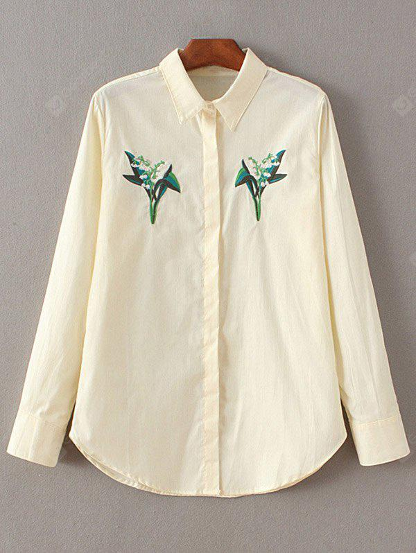 Embroidered Fitting Shirt