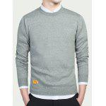 Buy GRAY, Apparel, Men's Clothing, Men's Sweaters & Cardigans for $16.43 in GearBest store