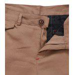 Beading Embellished Zipper Fly Chino Jogger Pants deal