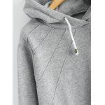 Pullover Hoodie with Pockets - GRAY