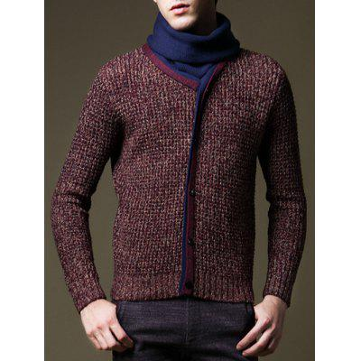 Roll Neck Button Embellished Pullover SweaterMens Sweaters &amp; Cardigans<br>Roll Neck Button Embellished Pullover Sweater<br><br>Collar: Turtleneck<br>Material: Acrylic, Polyester<br>Package Contents: 1 x Sweater<br>Sleeve Length: Full<br>Style: Casual<br>Type: Pullovers<br>Weight: 0.550kg