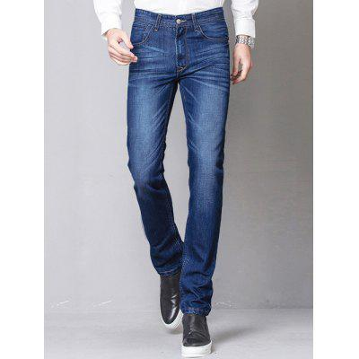 Slim Fit Zip-Fly Straight Leg Jeans Jagger
