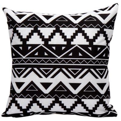 Soft Decorative Geometrics Sofa Bed Pillow Case