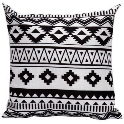 Soft Decorative Geometrics Pattern Sofa Bed Pillow Case $6 1
