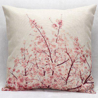 Hot Sale Cherry Blossom Decorative Household Pillow Case