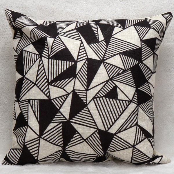 Decorative Household Triangles Combination Pillow Case