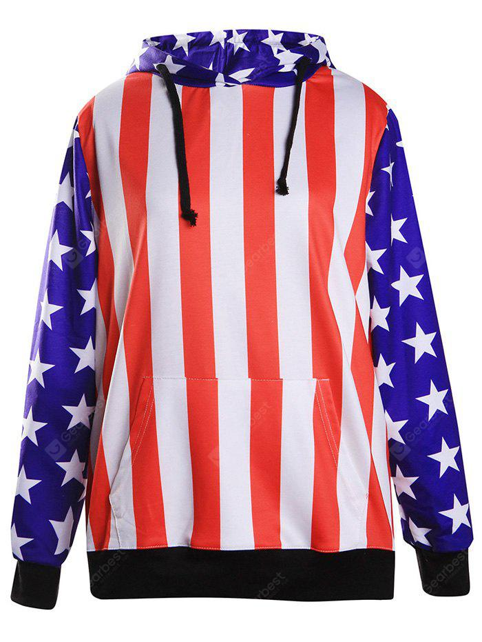 Striped and Stars lose Hoodie