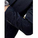 Slim-Fit Lapel Single Breasted Jacquard Blazer photo