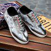 Buy LIGHT GRAY Lace-Up Camouflage Pattern Splicing Casual Shoes for $12.69 in GearBest store